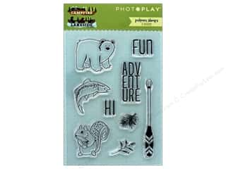 stamps: Photo Play Collection Campfire Lakeside Combo Polymer Stamp