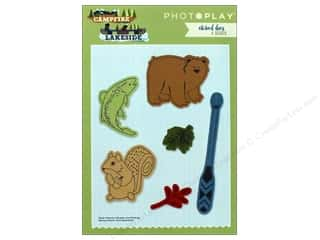 die cutting machines: Photo Play Collection Campfire Lakeside Combo Etched Die