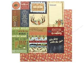 """Photo Play Collection Campfire Paper 12""""x 12"""" Around The Campfire (25 pieces)"""
