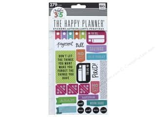 Me&My Big Ideas Happy Planner Sticker Snap In Get Paid