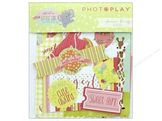 die cuts: Photo Play Collection About A Little Girl Ephemera Die Cuts