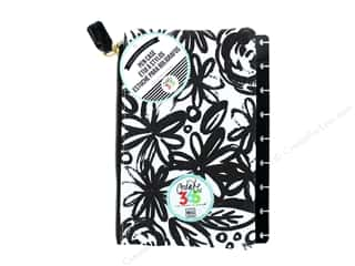 Me&My Big Ideas Create 365 Happy Planner Pen Case Snap In Black Flowers Picture