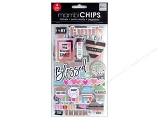 Me&My Big Ideas Sticker Designer Chipboard Flip I Love Us