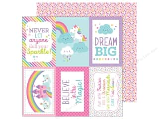 "Doodlebug Collection Fairy Tales Paper 12""x 12"" Fairy-fetti (25 pieces)"