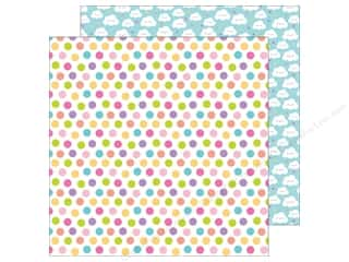 "Doodlebug Collection Fairy Tales Paper 12""x 12"" Princess Polka Dot (25 pieces)"