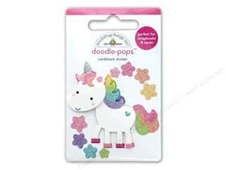 scrapbooking & paper crafts: Doodlebug Collection Fairy Tales Doodle Pops Unicorn