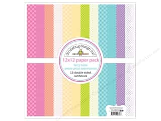 """scrapbooking & paper crafts: Doodlebug Collection Fairy Tales Paper Pack 12""""x 12"""" Petite"""