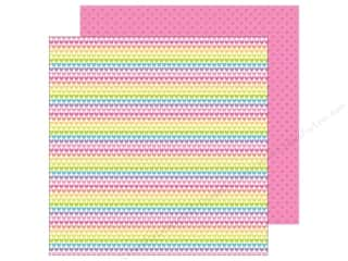 "Doodlebug Collection Fairy Tales Paper 12""x 12"" Rainbow Love (25 pieces)"