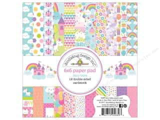 "Doodlebug Collection Fairy Tales Paper Pad 6""x 6"""
