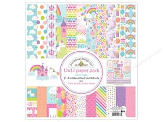 "Doodlebug Collection Fairy Tales Paper Pack 12""x 12"""