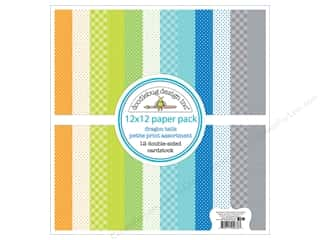 """scrapbooking & paper crafts: Doodlebug Collection Dragon Tails Paper Pack 12""""x 12"""" Petite"""