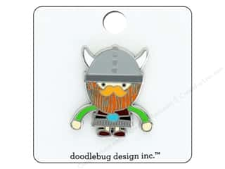 Doodlebug Collection Dragon Tails Enamel Pin Viking