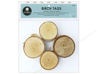 Walnut Hollow Birch Tag 4 pc.