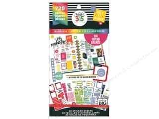 stickers: Me&My Big Ideas Create 365 Happy Planner Sticker Value Pack Big Rainbow