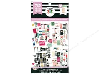 Me&My Big Ideas Happy Planner Sticker Value Pack Classic Color Story