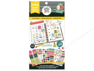 stickers: Me&My Big Ideas Create 365 Happy Planner Sticker Value Pack Big Teacher