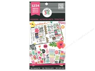 stickers: Me&My Big Ideas Create 365 Happy Planner Sticker Value Pack Today Is The Day