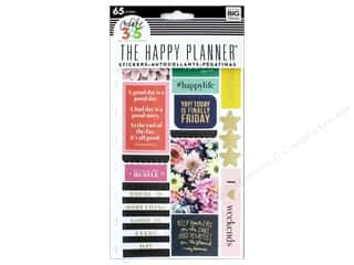 scrapbooking & paper crafts: Me&My Big Ideas Collection Create 365 Happy Planner Sticker Snap In Happy Life