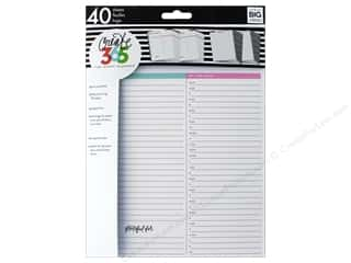 patterned paper: Me&My Big Ideas Create 365 Happy Planner Fill Paper Big Daily