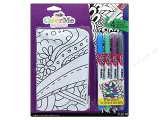 craft & hobbies: Tulip Color Me Fabric Markers Kit Zipper Pouch