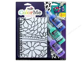 Tulip Color Me Kit 3D Paints Notebook