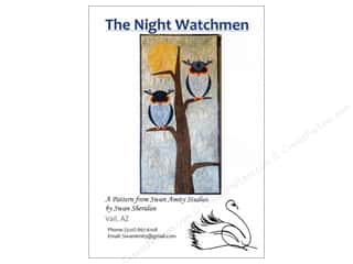 Swan Amity Studios The Night Watchmen Pattern