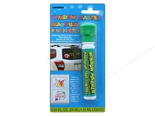craft & hobbies: Unique Window Marker Carded Green