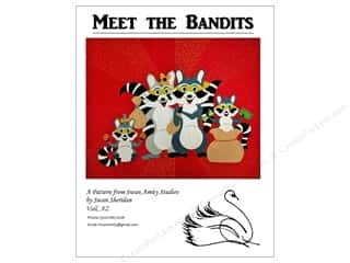 Swan Amity Studios Meet The Bandits Pattern