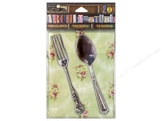 7 Gypsies Collection Architextures Treasures Fork & Spoon Silver