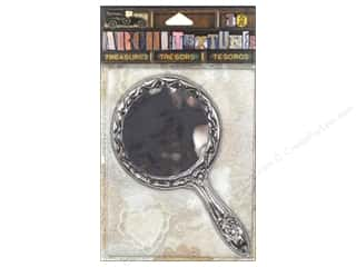 7 Gypsies Collection Architextures Treasures Tarnish Mirror Silver