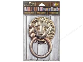7 Gypsies Collection Architextures Treasures Lion Door Knocker