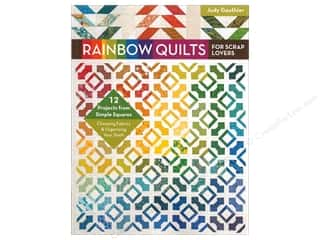 books & patterns: Rainbow Quilts for Scrap Lovers: 12 Projects from Simple Squares Book by Judy Gauthier