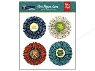 Echo Park Collection Once Upon A Time Prince Paper Fans Mini