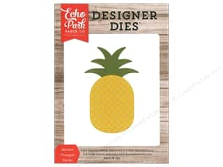 Clearance: Echo Park Die Stitched Pineapple