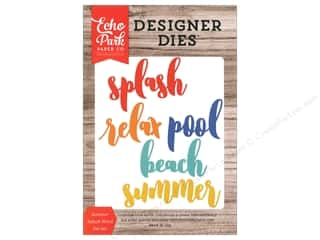 summer splash: Echo Park Die Summer Splash
