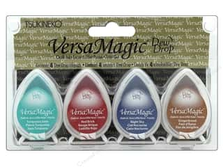 Tsukineko VersaMagic Dew Drop Pigment Chalk Ink Pad Set South West