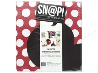 """Simple Stories: Simple Stories Collection Say Cheese III Snap Binder 6""""x 8"""""""
