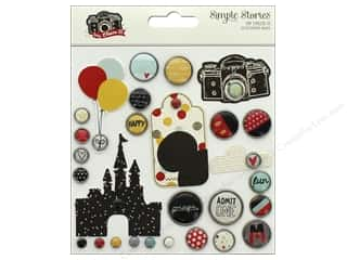 Simple Stories: Simple Stories Collection Say Cheese III Deco Brads