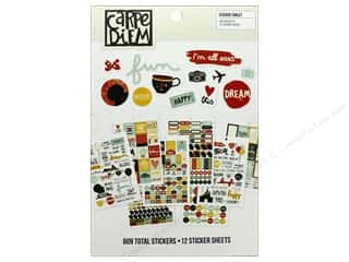 Simple Stories: Simple Stories Collection Say Cheese III Carpe Diem Sticker Tablet