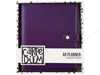 Simple Stories Collection Carpe Diem A5 Planner Grape