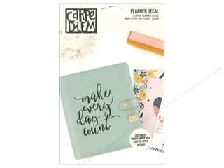 scrapbooking & paper crafts: Simple Stories Collection Carpe Diem Planner Decal Large Every Day Black