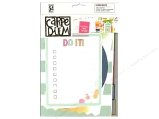 patterned paper: Simple Stories Collection Carpe Diem Planner Insert Fitness