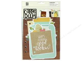 patterned paper: Simple Stories Collection Carpe Diem Planner Insert Recipe