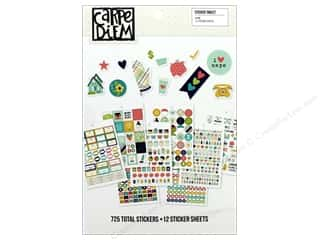 Simple Stories: Simple Stories Collection Carpe Diem Sticker Tablet Home