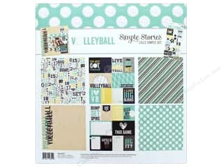 "Simple Stories: Simple Stories Collection Volleyball Collection Kit 12""x 12"""