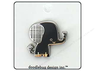 Clearance: Doodlebug Collection At The Zoo Enamel Pin Ellie