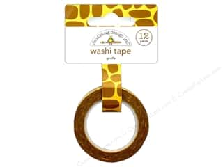 washi tape: Doodlebug Collection At The Zoo Washi Tape Giraffe
