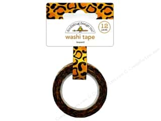 washi tape: Doodlebug Collection At The Zoo Washi Tape Leopard