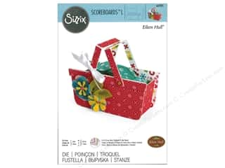 die cutting machines: Sizzix Dies Eileen Hull ScoreBoards L Basket