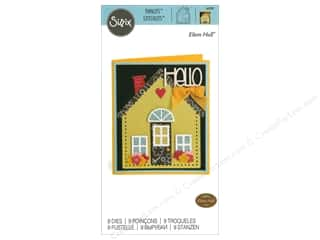 window die: Sizzix Dies Eileen Hull Thinlit House/Pocket Stitchlits